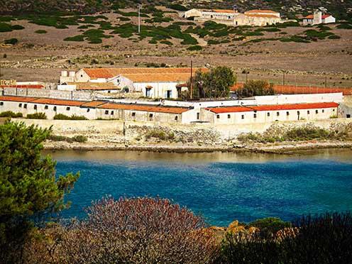 A Campo Perdu tábor Asinara szigetén