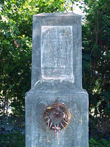 A Pócsmegyer–leányfalusi tűzoltók emlékműve