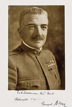 Armando Diaz tábornok 1921-ben készült portréja