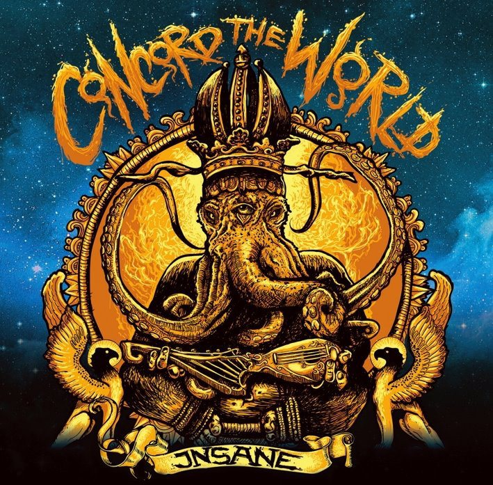 Durvulás - Insane - Concord the World (2012)
